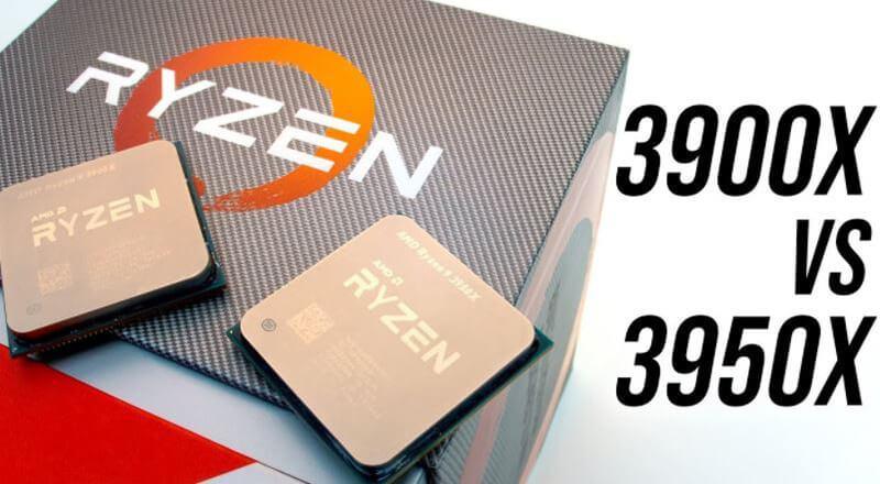 AMD Ryzen 9 3900X vs 3950X Comparison [New 2020]