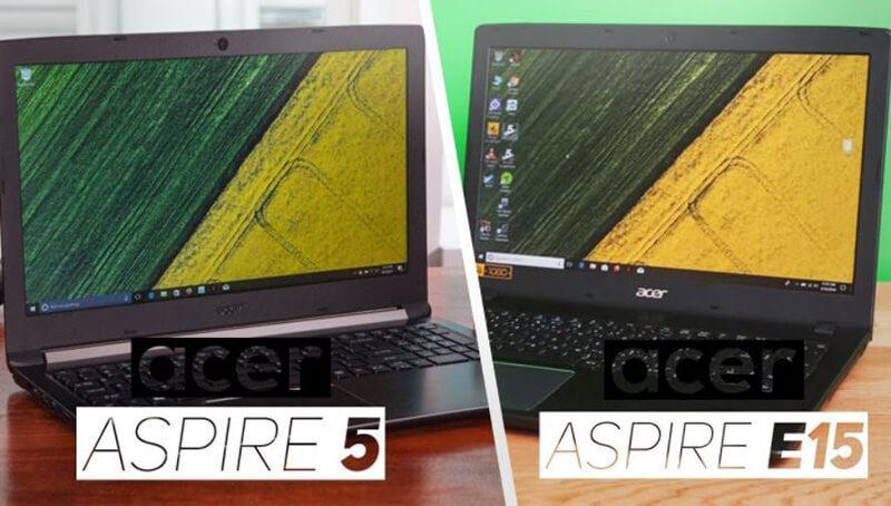 Acer Aspire 5 Vs Acer Aspire E15 Comparison