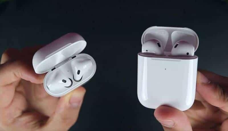 Apple AirPods 1 Vs AirPods 2Comparison