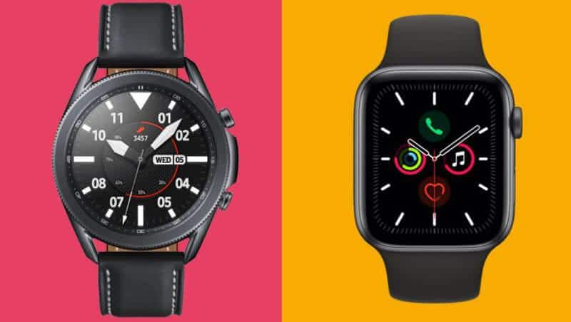 Apple Watch 5 Vs Samsung Galaxy Watch 3