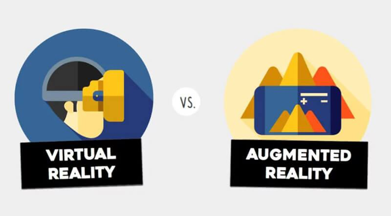 Virtual Reality(VR) vs. Augmented Reality(AR)