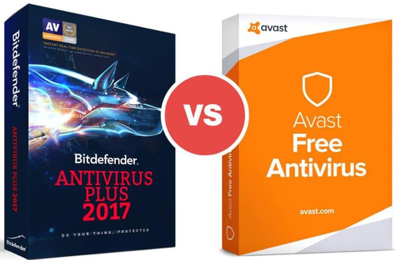 Bitdefender Vs Avast Comparison