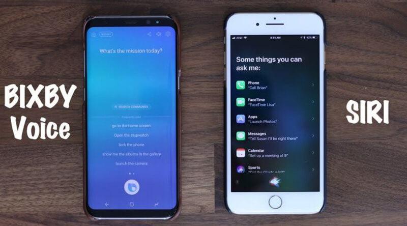 Bixby Vs Siri Comparison