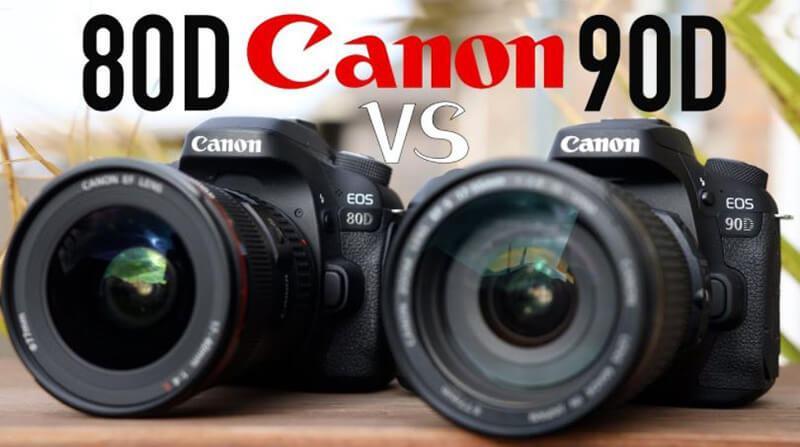 Canon 90D vs Canon 80D Comparison