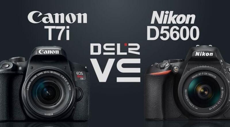 Canon EOS T7i Vs Nikon D5600