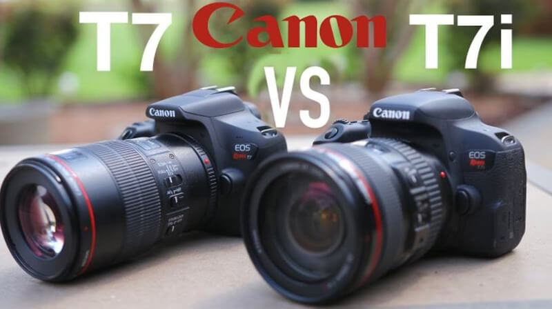 Canon T7 vs. T7i Comparison