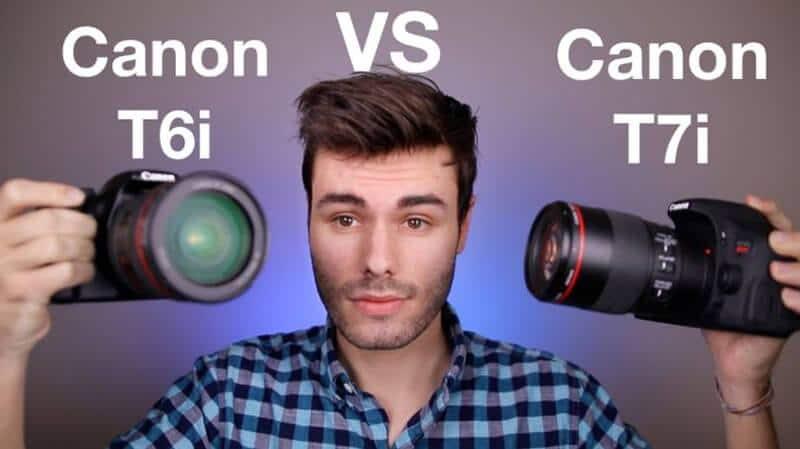Canon T7i Vs Canon T6i Comparison