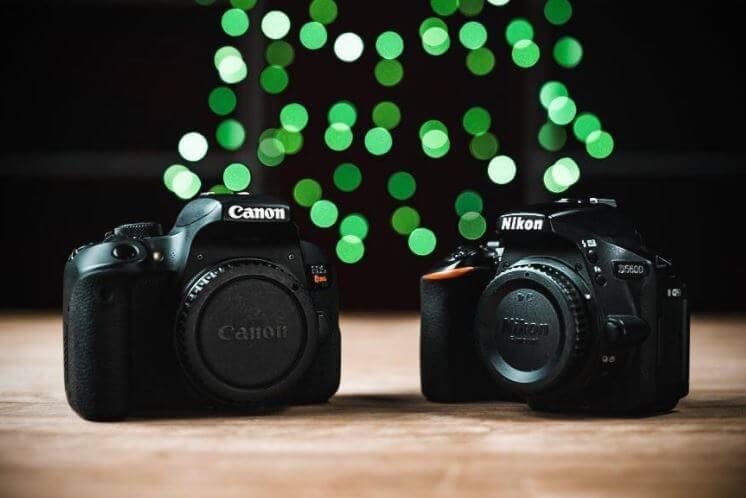 Canon T7i vs. Nikon D5600 Comparison