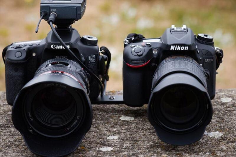 Canon Vs NikonHistory
