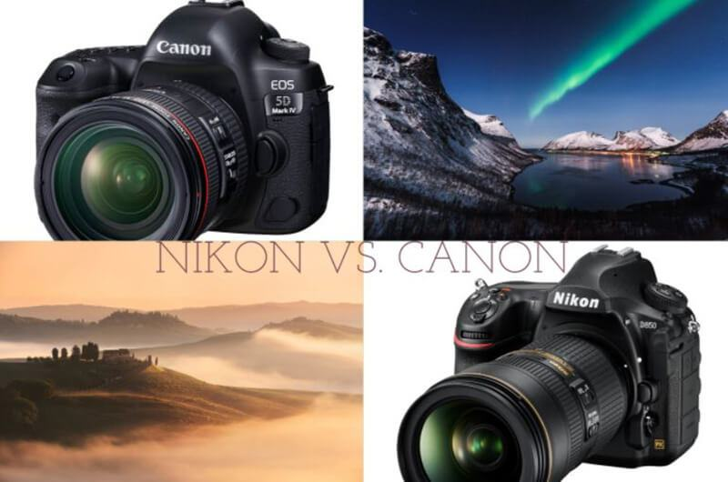 Canon vs. Nikon Comparison