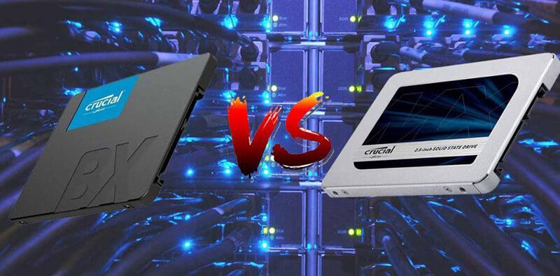 Crucial BX500 Vs MX500 - Which Is Better One