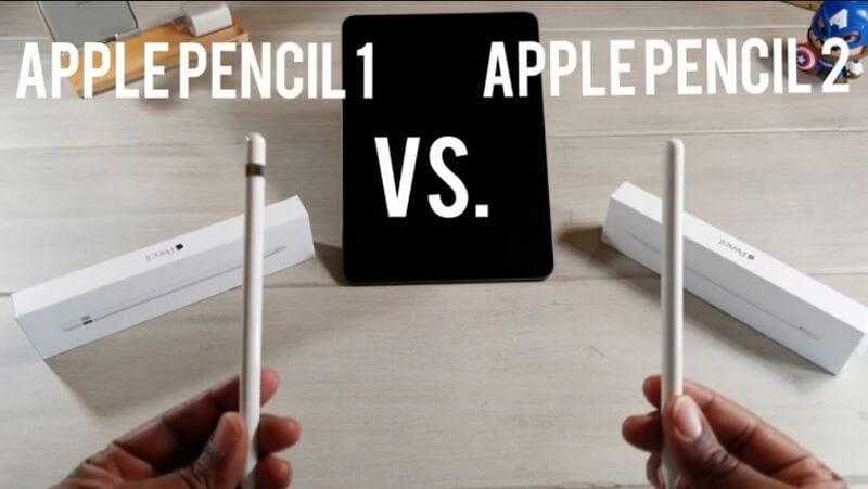 Differences Between Apple Pencil 1 Vs Apple Pencil 2