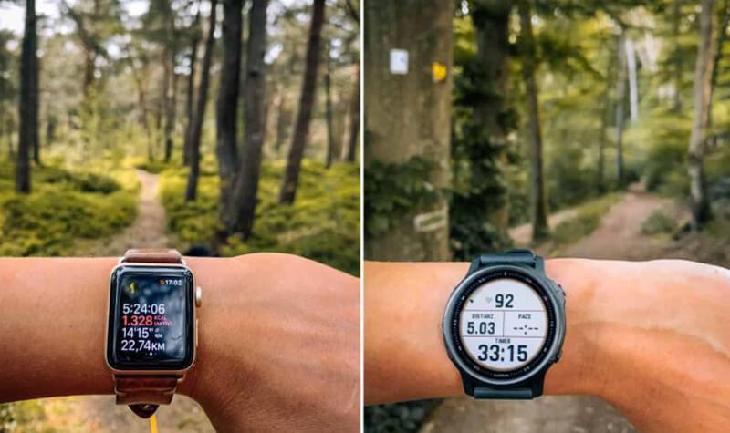 Garmin Vs Apple Watch Comparison