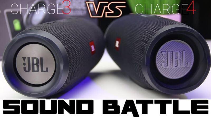 JBL Charge 3 Vs Charge 4