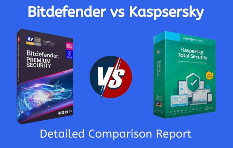 Kaspersky Vs Bitdefender Comparison