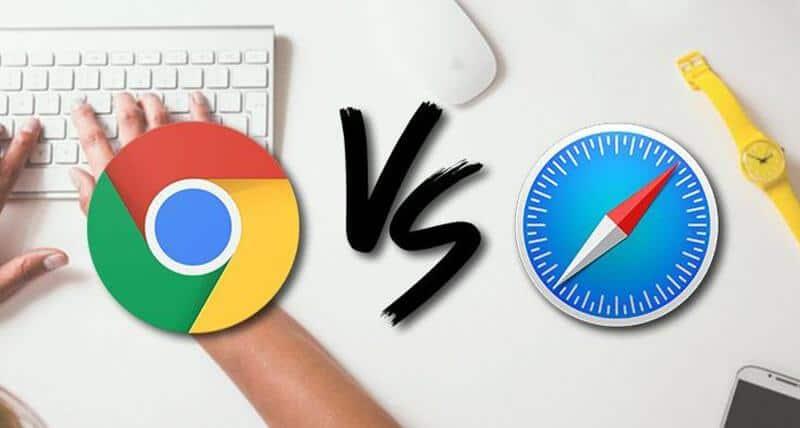 Safari Vs Chrome