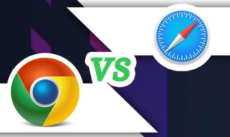 Safari Vs Chrome Comparison