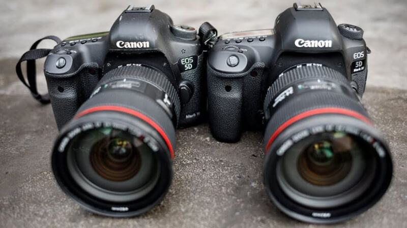 Selecting between Canon 5D Mark IV vs Canon 5D Mark III