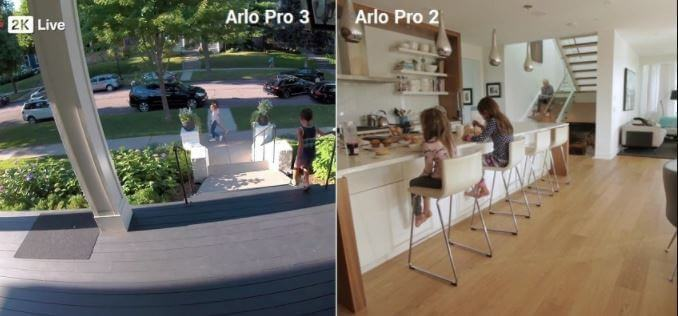 The Differences between Arlo Pro 2 and 3