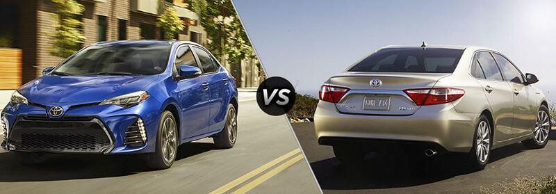 Toyota Camry vs. Toyota Corolla In-Depth Comparison