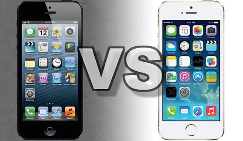 iphone 5S Vs iphone 5