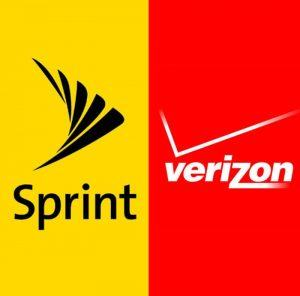 sprint vs verizon