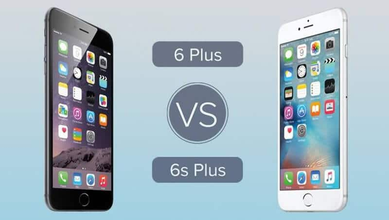 Apple iPhone 6 Plus vs Apple iPhone 6s Display