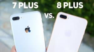 Apple iPhone 8 Plus vs iPhone 7 Plus