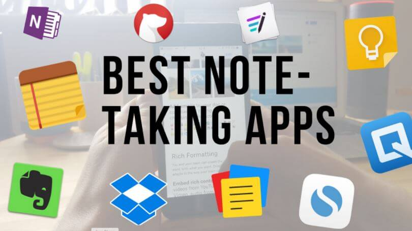 Best Note-Taking Apps In 2020 [ TOP 14 CHOICES]