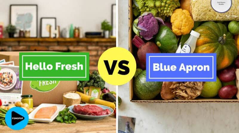 Blue Apron And HelloFreshv
