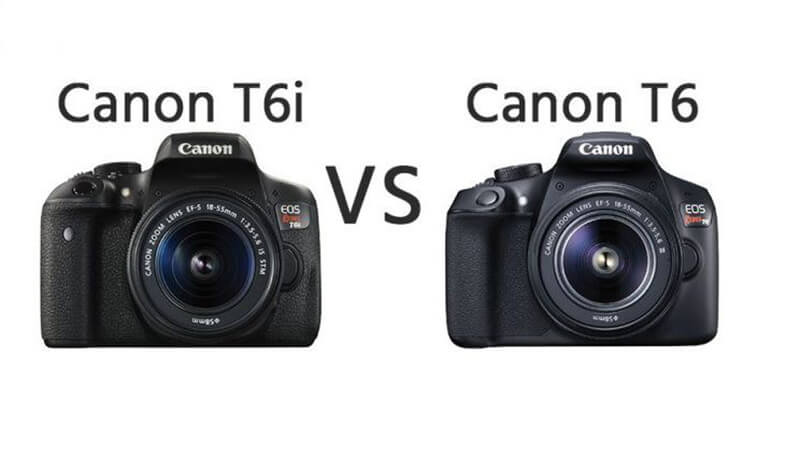 Canon T6i and T6i