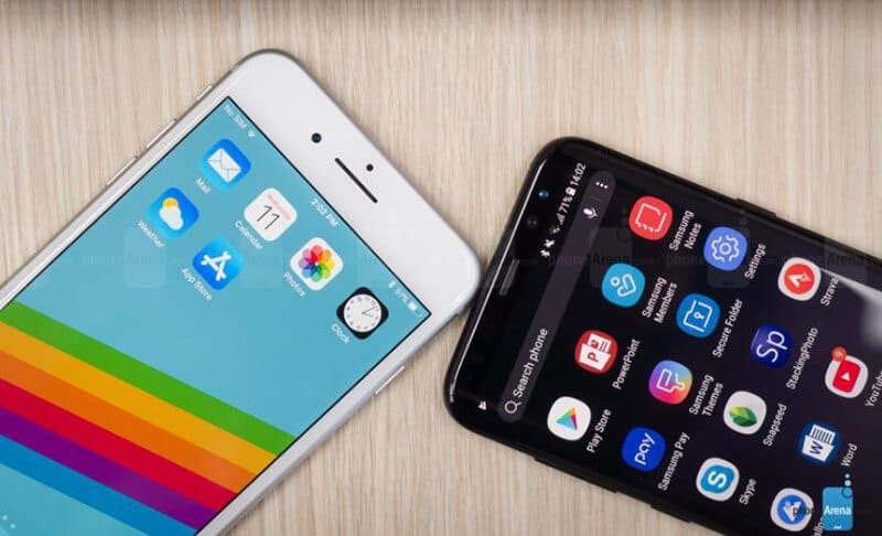 ComparingApple iPhone 8 Plus vs Samsung Galaxy S8 PlusSpecs