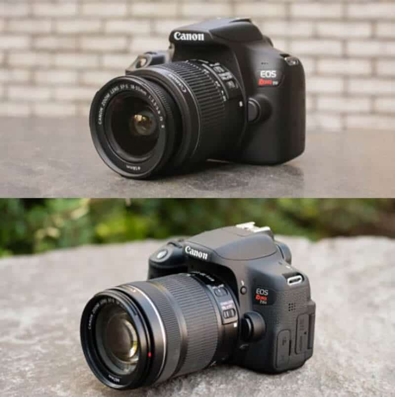 Comparing Canon T6i and T6i