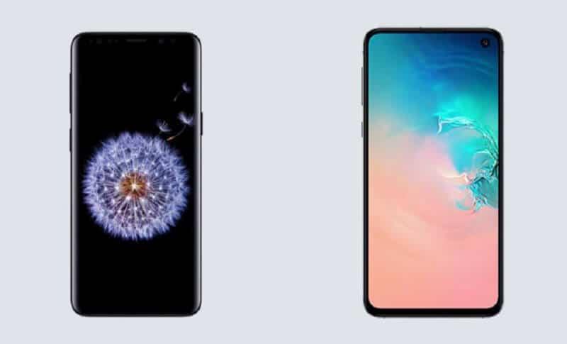 Comparing Galaxy S10e vs Galaxy S9Comparing Galaxy S10e vs Galaxy S9
