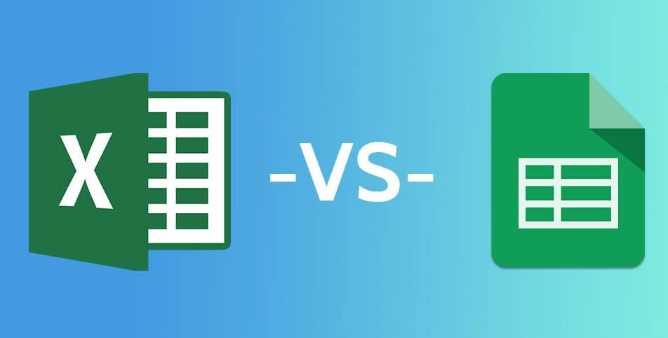 Comparing Google Sheets Vs Excel