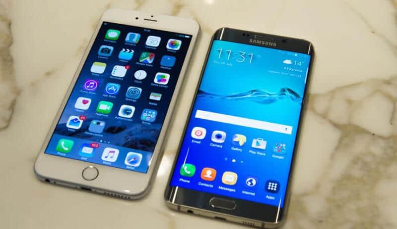 Comparing Samsung Galaxy S6 Edge Plus vs iPhone 6 Plus