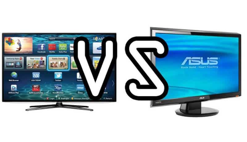 Comparing TV vs Monitor