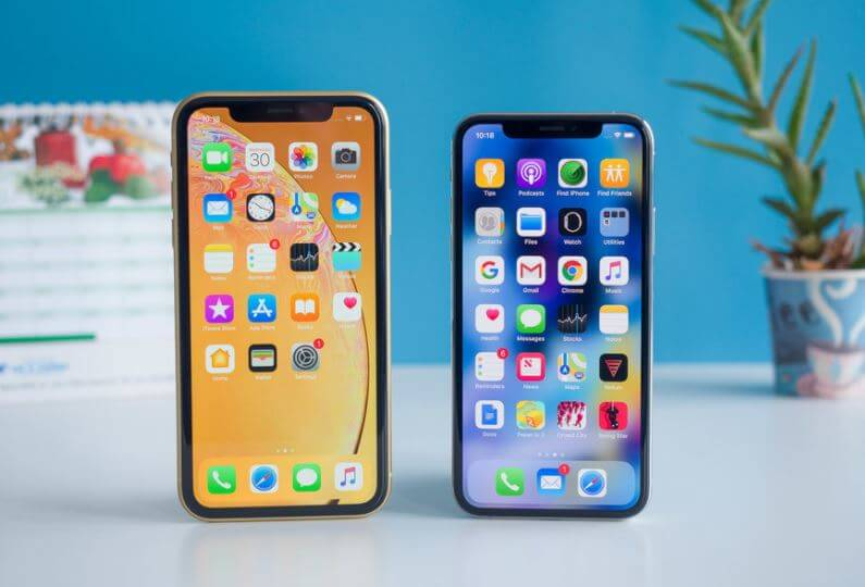 Comparing iPhone XS VS iPhone XR
