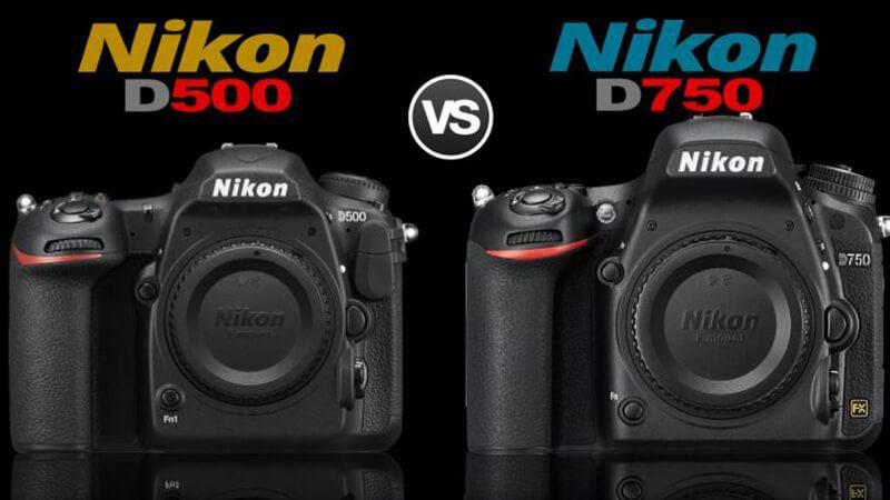 Nikon D750 Vs D500