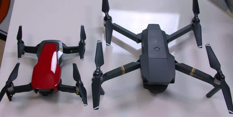DJI Mavic Air Vs Pro Specs
