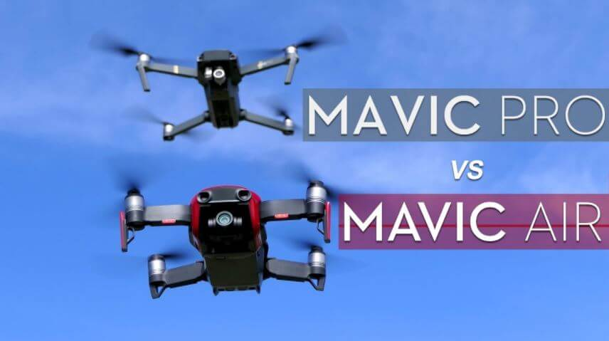 DJI Mavic Air Vs Pro