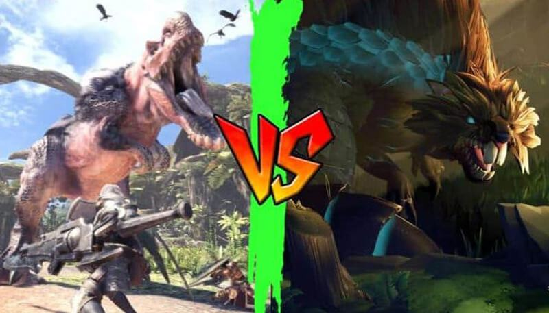 Dauntless Vs Monster Hunter World Comparison