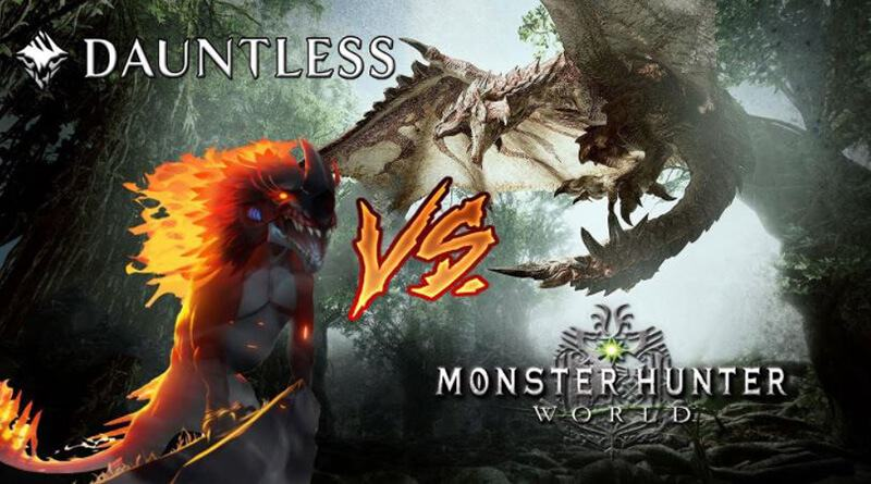 Dauntless Vs Monster Hunter World - Which Game Is Right For You