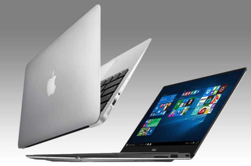 Dell XPS 13 Vs MacBook Air Display