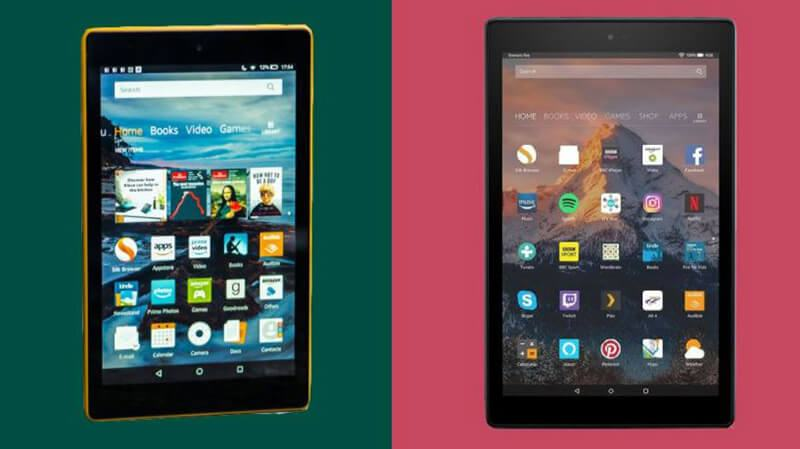 Difference Between Fire HD 10 and Fire HD 8