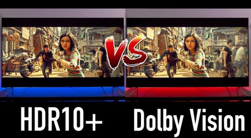 Dolby Vision vs HDR 10+