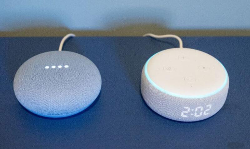 Echo Dot (3rd Gen) Vs Google Nest Mini Comparison