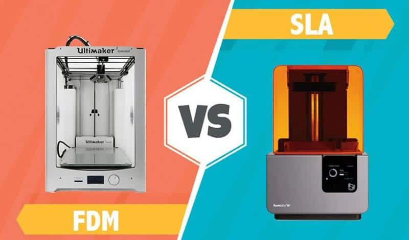 FDM Vs SLA - Which 3D Printer Is Suitable For You