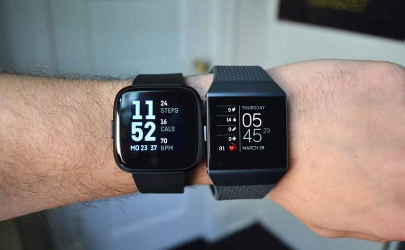 Fitbit Versa 2 vs Lonic Comparison