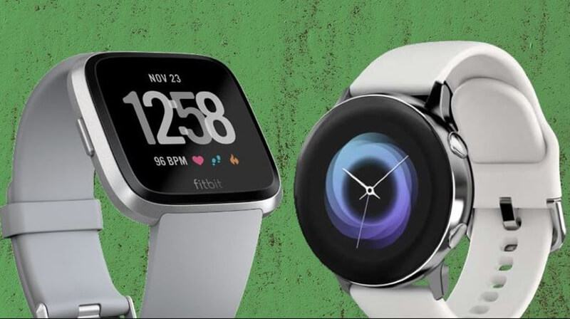 Fitbit Versa vs Samsung Galaxy Design